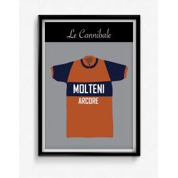 Poster Maillot Molteni...