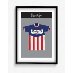 Poster Maillot Brooklyn