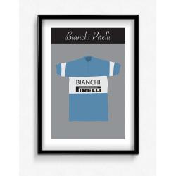 Poster Maillot Bianchi Pirelli