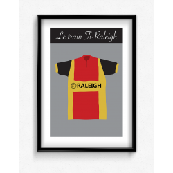 Poster Maillot Ti Raleigh