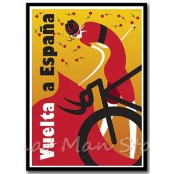 Affiche vintage Vélo Vuelta...