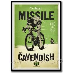 Affiche vintage Vélo Mark...