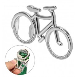Décapsuleur en forme de vélo